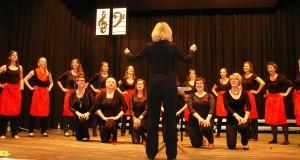 Nicht nur die gesanglichen, auch die schauspielerischen Fähigkeiten der jungen Frauen aus Heidelberg beeindruckten. - Foto: Maurer