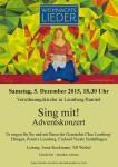 Adventskonzert – Sing mit! den Leonberger Chören