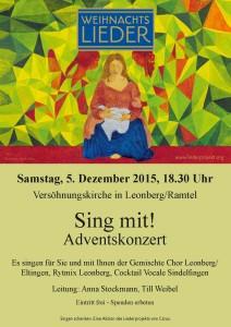 LK Leonberg Adventskonzert 2015