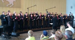 Liederkranz Deckenpfronn Auftritt im Rathaus