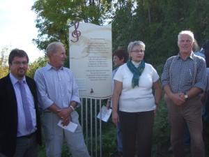 Zehn Liedertafeln am Wanderweg im Chorverband Ludwig Uhland