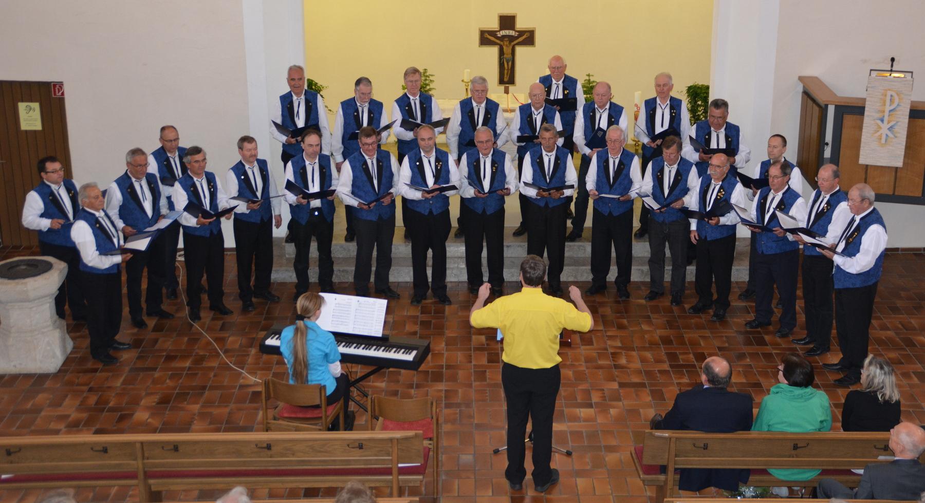 3. Bezirkskirchenkonzert des Sängerbezirk Albstadt