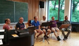 Die Stoiadler stellten sich den Dirigentinnen zur Verfügung.