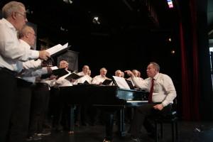 Immer bei und mit den Sängern - Joachim Schmid und die Pfäffer
