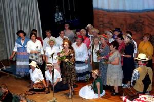 Der Liederkranz Güglingen beeindruckte mit einem Querschnitt aus drei beliebten Musicals in Herzogskelter