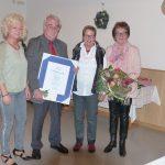 Ehrenvolle Würdigung für Wolfgang Oberndorfer für  30 Jahre Führungsarbeit im Chorverband Donau-Bussen, dem früheren Donau-Bussen-Gau