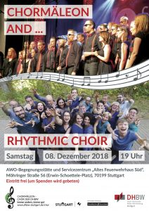 Pop-A-cappella hoch 2: CHORMÄLEON and Friends 2018
