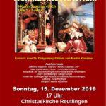 Weihnachtskonzert der Betzinger Sängerschaft