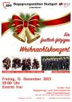Festlich-fetziges Weihnachtskonzert mit CHORMÄLEON und Männerchor Egolfs am Fr, 11.12.15 in Stuttgart
