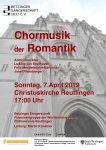 Konzert der Betzinger Sängerschaft
