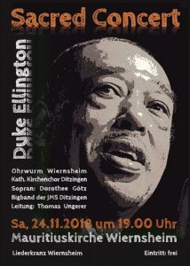 Sacred Concert zu hören in Wiernsheim