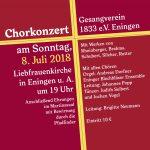 Chorkonzert in der Eninger Liebfrauenkirche