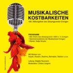 186. Stiftungsfest Gesangverein Eningen – Musikalische Kostbarkeiten