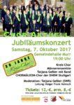 30 Jahre Kreis-Chor: Jubiläumskonzert mit Tatjana Geßler (SWR) und Chormäleon aus Stuttgart