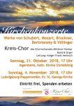 Kirchenmusik von traditionell bis modern: Kreis-Chor präsentiert Kirchenkonzerte in Ingersheim und Ludwigsburg-Poppenweiler