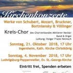 Kirchenkonzerte mit dem Kreis-Chor