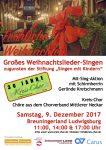 Großes Weihnachtslieder-Singen: Kreis-Chor organisiert Mit-Sing-Format im Breuningerland Ludwigsburg