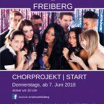 """Projektchor """"Voices in Freiberg"""" sucht Sänger!"""