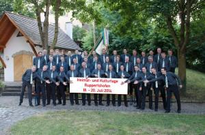 Der Liederkranz Ruppertshofen-Leofels feierte bei den Heimat- und Kulturtagen in Ruppertshofen seinen 170. Geburtstag