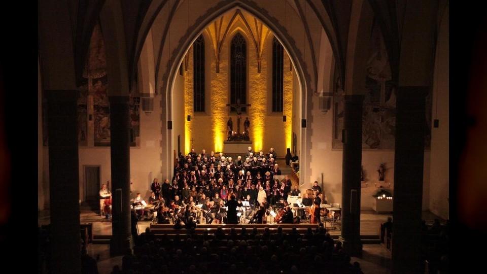 Weihnachtskonzert des Sängerkranzes Leutkirch in der Martinskirche