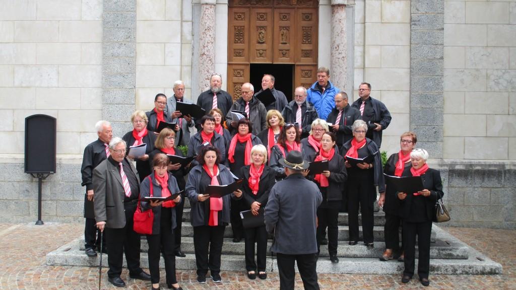 Die Lieder der Satteldorfer fanden großen Anklang