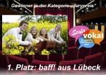 baff! aus Lübeck gewinnen Scala Vokal 2016