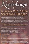 Neujahrskonzert Chorverband Zollernalb am 06. Januar 2018