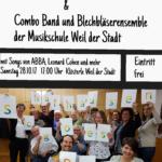 """Aufführung nach Mitgliederwerbeaktion für Projektchor """"Schafhausen goes Pop"""""""