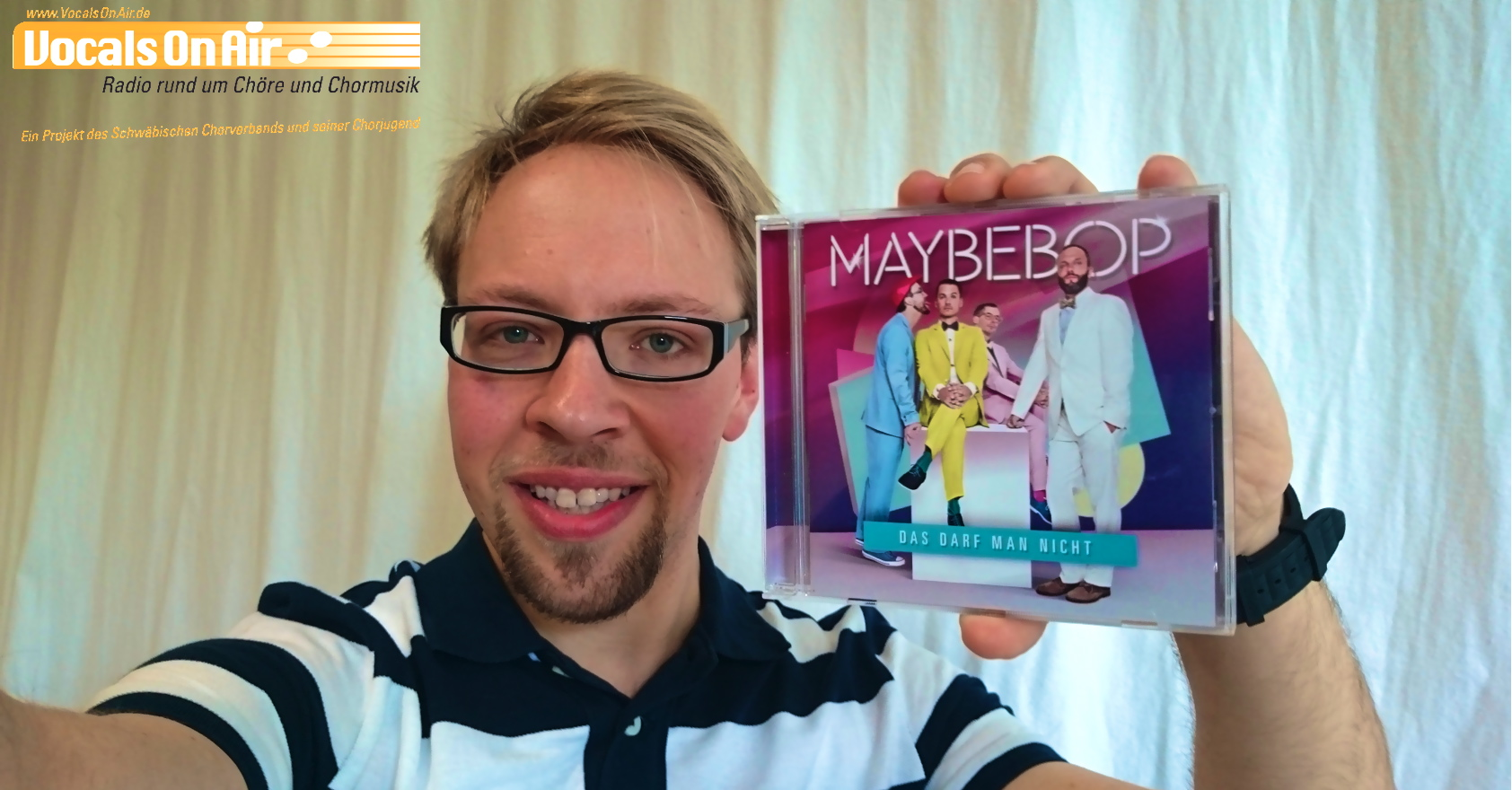 """CD-Tipp: """"Das darf man nicht"""" – 13. Album der Pop A-cappella-Band """"Maybebop"""""""