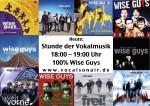 Eine Stunde mit den Wise Guys bei Vocals On Air: Stunde der Vokalmusik