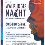 SingFreu(n)de Warmbronn starten ins 50-jährige Jubiläum mit der Walpurgisnacht