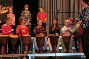 Spaß und ein intensives Gemeinschaftsgefühl beim Trommel