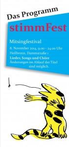 Stimmfest-Programm-Cover