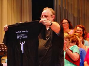 Udo Königs seit 20 Jahren Chorleiter des LK Münchingen