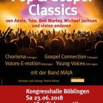 "4 Chöre Projekt ""United We Sing – Pop & Gospel Classics"""