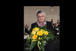 Irmgard Naumann wurde erneut als Präsidentin des Chorverbandes Ludwig Uhland gewählt