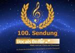 Vocals On Air feiert die 100. Sendung
