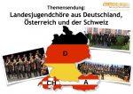 Landesjugendchöre aus Deutschland, Österreich und der Schweiz im Radiomagazin Vocals On Air