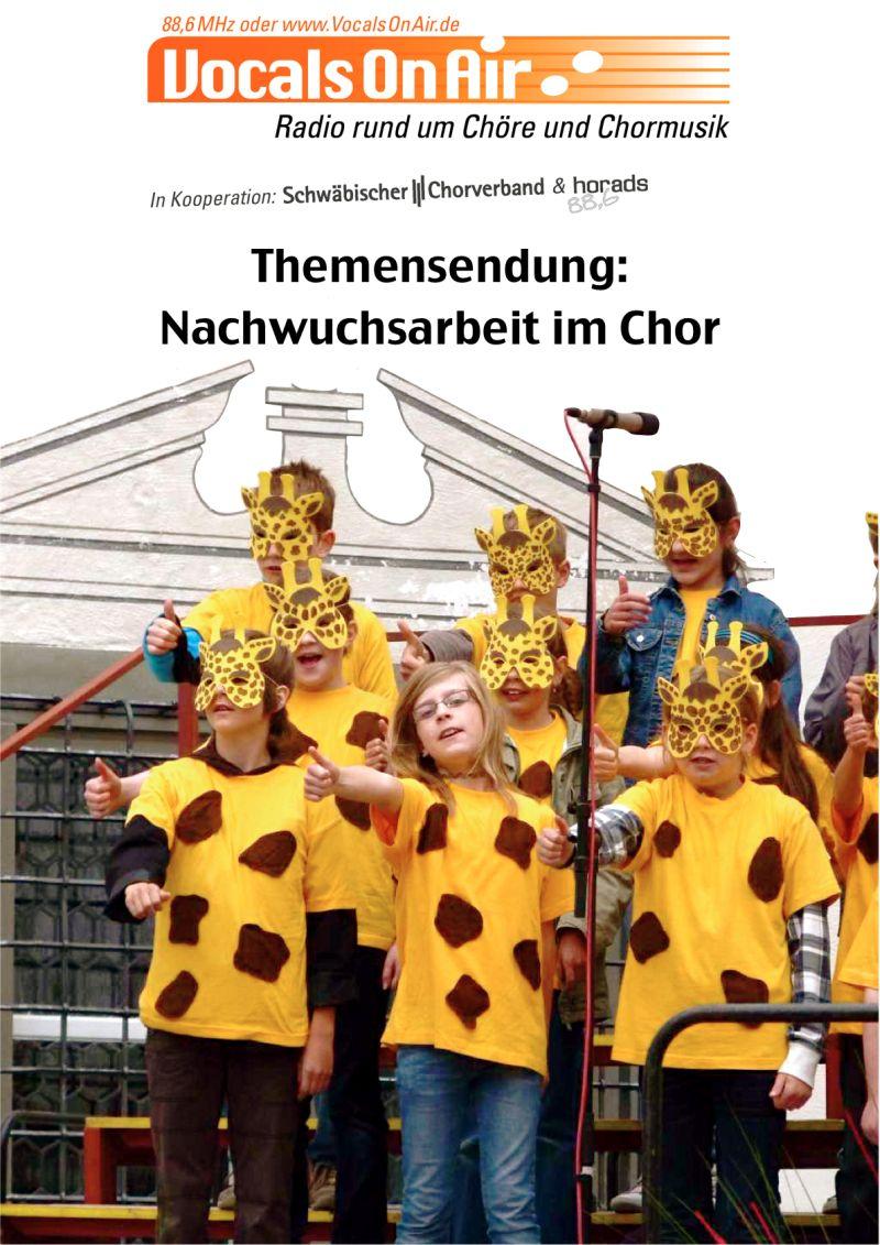 Vocals on Air über die Nachwuchsarbeit im Chor