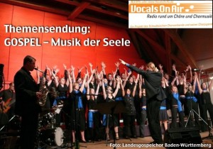 Der Landesgospelchor bei Vocals on Air