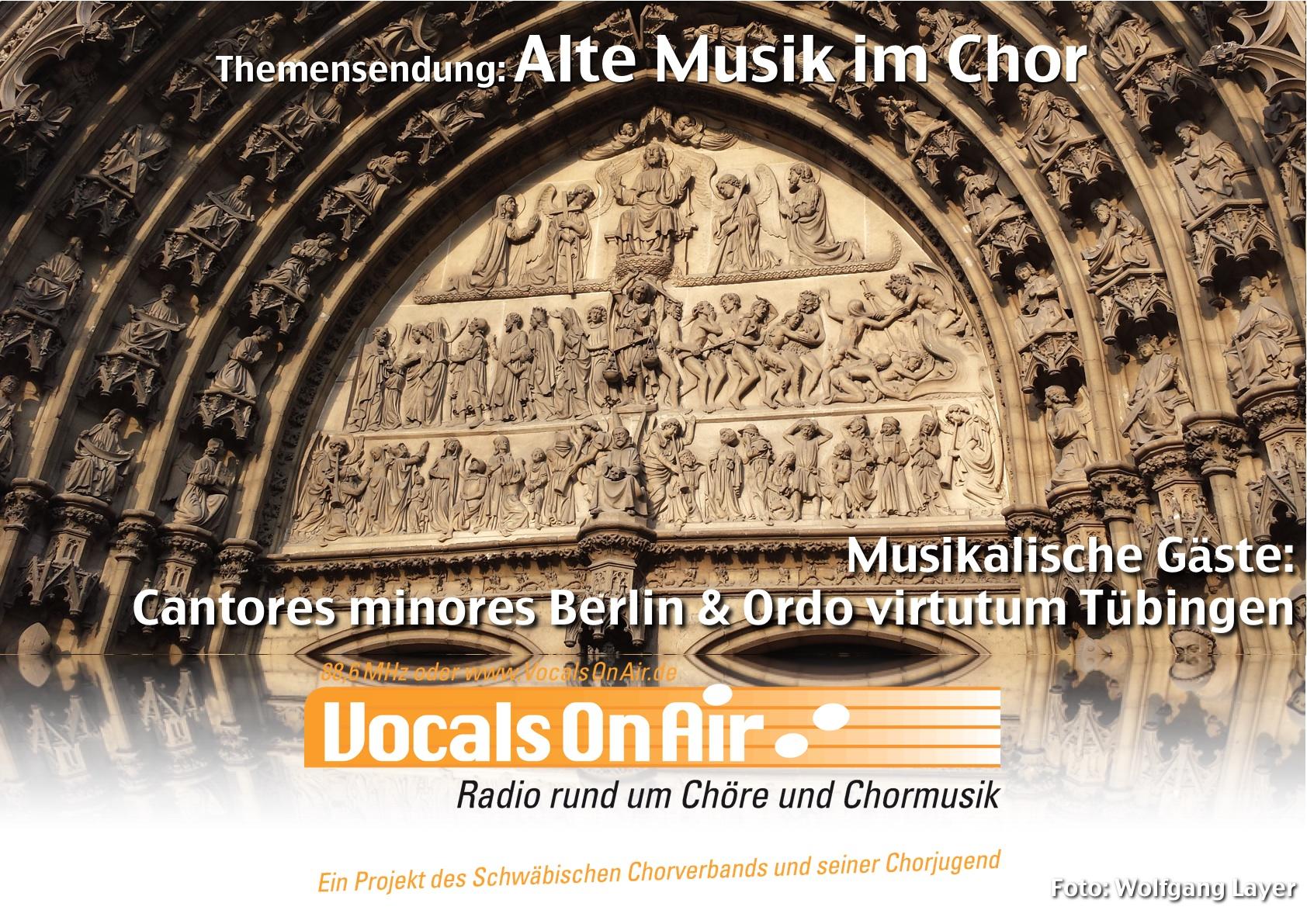 """Vocals On Air über """"Alte Musik"""" im Chor am 16.10.2014"""