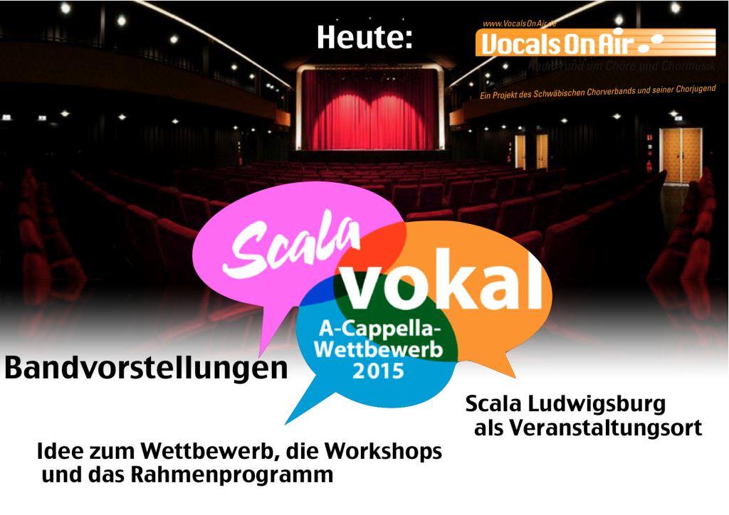 Scala Vokal – der A-cappella-Wettbewerb bei Vocals on Air