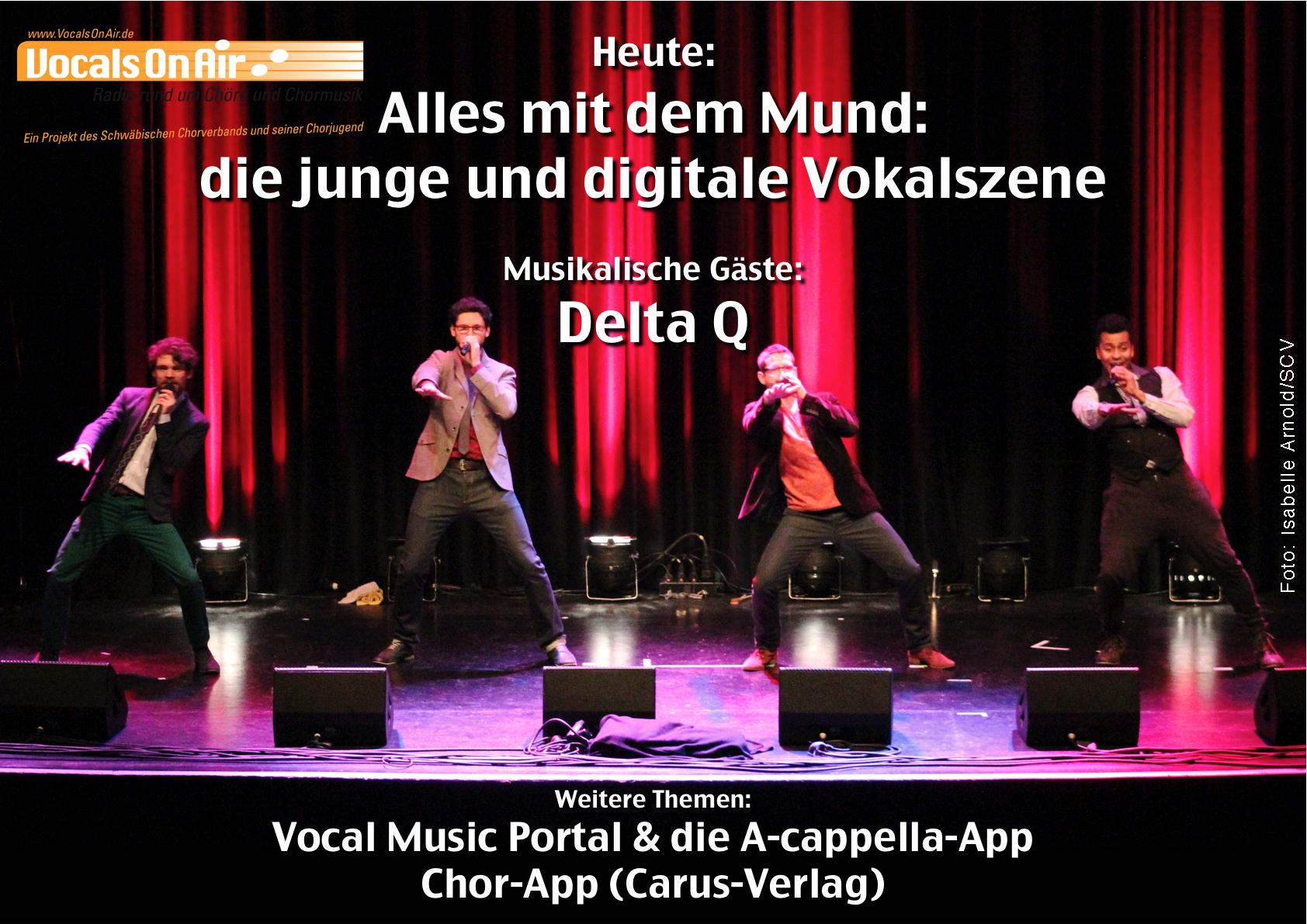 Alles mit dem Mund: Vocals On Air präsentiert die junge und digitale Vokalszene