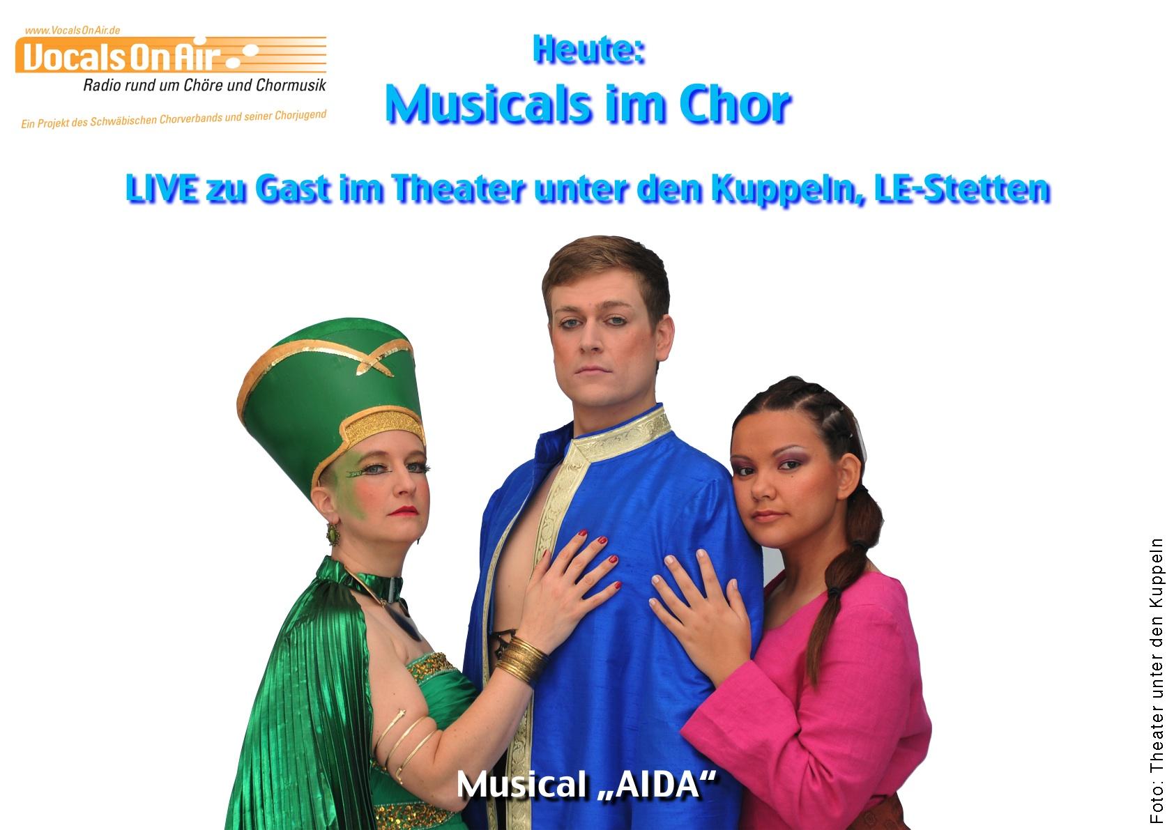 Musicals im Chor – Folge 2: Vocals On Air zu Gast im Theater unter den Kuppeln