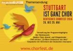 Vocals On Air präsentiert Themensendung zum Deutschen Chorfest 2016 in Stuttgart