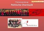 Politische Chormusik bei Vocals On Air
