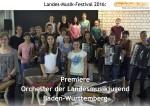 Premiere des Orchester der Landesmusikjugend BW: ein Interview mit Dirigent Sylvio Zondler