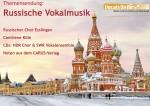 Russische Vokalmusik bei Vocals On Air
