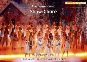 Blue Voice Kinderschowchor Hamburg / Foto: Franziska Krug-Getty Images, Bearb.: Vocals On Air