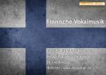 Finnische Vokalmusik bei Vocals On Air